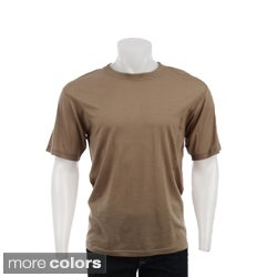 Kenyon Men&#39;s Short-sleeve Australian Merino Wool Shirt
