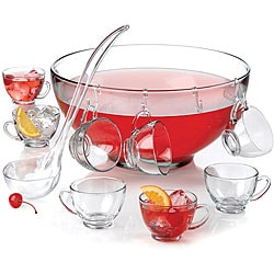 Anchor Hocking 18-piece Punch Bowl Set