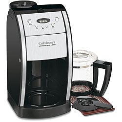 Cuisinart DGB-550BKFR Black 12-cup Grind and Brew Coffeemaker (Refurbished)