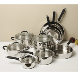 Cuisinart 14-piece Stainless Steel Cookware Set