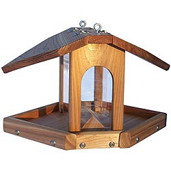 Stovall Hanging Multi-sided Birdfeeder