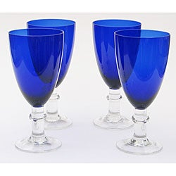 Certified International Cobalt 16-oz All Purpose Goblets (Set of 8)