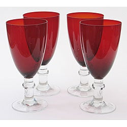 Certified International Ruby 16-oz Goblets (Set of 8)