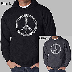Los Angeles Pop Art Men's Peace 77 Hoodie