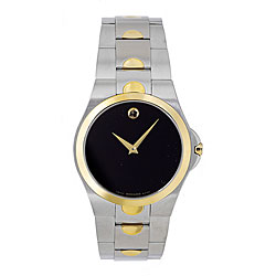 Movado Men's Luno Two-tone Watch