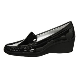 AK Anne Klein Women's 'Laise' Wedge Loafers