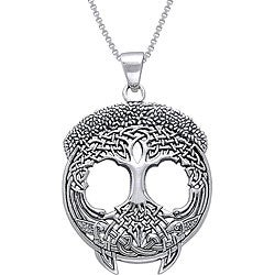 CGC Sterling Silver Tree of Life Necklace