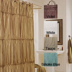 Illumination Crinkle Shower Curtain