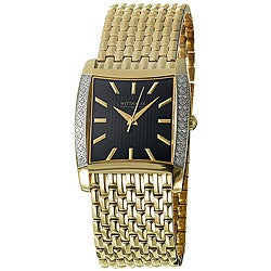 Wittnauer Men's Metropolitan Goldplated Watch