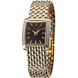 Wittnauer Metropolitan Women's Goldtone Diamond Watch