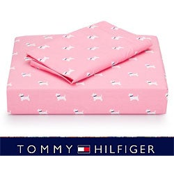 Tommy Hilfiger Park Avenue Scottie 200 TC Sheet Set (Twin/Twin-XL)