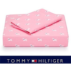 Tommy Hilfiger Park Avenue Scottie 200 TC Sheet Set (Full/Queen)