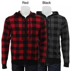 Retrofit Men's Buffalo Plaid Hoodie - Overstock Shopping - Big