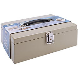 Metal Cash Box with Locking Latch