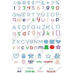 Cricut 'Simply Sweet' Font Cartridge
