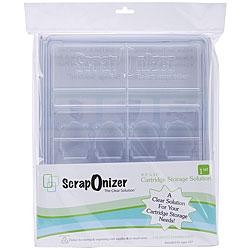 Scraponizer Clear 8.5x11-inch Cartridge Storage Solution