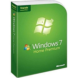 Microsoft Windows 7 Home Premium Upgrade from Windows XP or Vista (1 License)