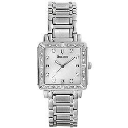 Bulova Women's Diamond-accent Watch