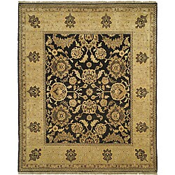 Oushak Hand-spun Wool Tabaz Rug (8' x 10')