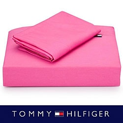 Tommy Hilfiger Petal Pink 3-piece Sheet Set (Twin/Twin-XL)