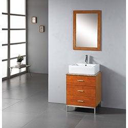 Bathroom Vanity on Contemporary 24 Inch Bathroom Vanity   Overstock Com