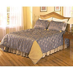 Carlyle Hand-crafted 3-piece Bedspread Set