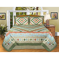 Ashley Handcrafted 3-piece Bedspread Set