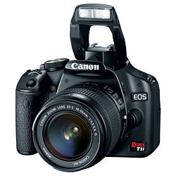 Canon EOS Rebel T1i EF-S 18-55mm IS Digital SLR Camera Kit
