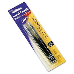 Uni Ball Vision Elite Rollerball 2-piece Pen Refills (Pack of 6)