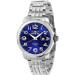 Invicta Men's Invicta II Blue Dial Stainless Steel Watch