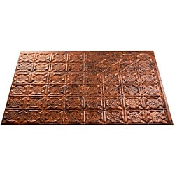 Fasade Moonstone Copper Backsplash Panels (Set of 4)