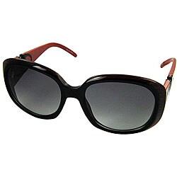 Valentino 5570/S Black/Red Women's Sunglasses
