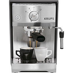 Krups XP5240 Pump Espresso Machine with Precise Tamp System