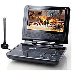 Envizen 7-inch Portable Digital TV/ DVD Player