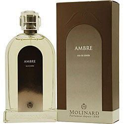 Molinard 'Ambre' Men's 3.4-ounce Eau de Toilette Spray