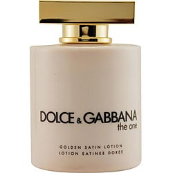 Dolce & Gabbana Women's 6.7-ounce 'The One' Golden Satin Lotion
