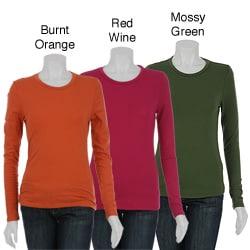 Chelsea & Theodore Women's Long-sleeve Crewneck T-shirt