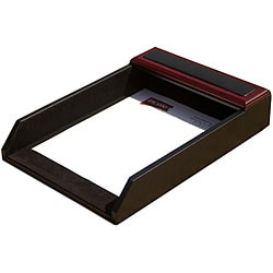 Dacasso 8000 Series Wood and Leather Front-Load Legal Tray