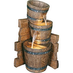 Lazy Days II 27.5-inch Rustic Western Fountain