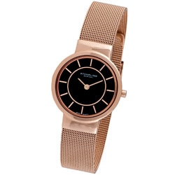Stuhrling Original Women's Chantility Rosetone Swiss Quartz Watch
