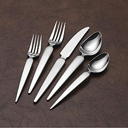 Sasaki 'Seja' Stainless Steel 20-piece Flatware Set