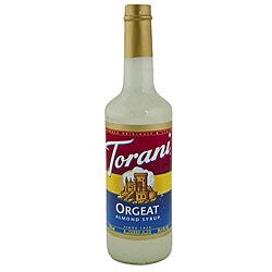 Torani 750-ml Pet Orgeat Syrup (Pack of 6)