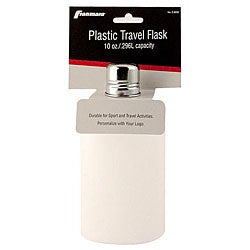 Franmara 10-oz Carded Plastic Flask