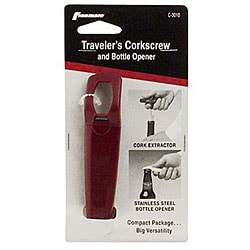 Franmara Traveler Corkscrew Bottle Opener