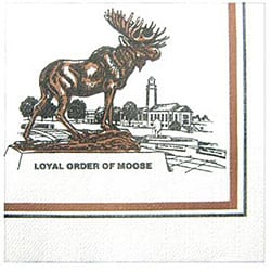 Paterson Pacific Parch Moose Cocktail Napkin (Case of 5000)