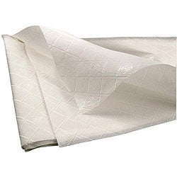 Paterson Pacific Parch 54-in x108-in 3-ply White Tablecover (Case of 25)