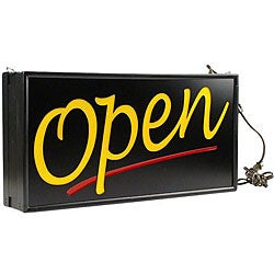 E Brite Sign Products Standard Open Sign