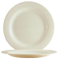 Cardinal International 9.5-in White Reception Plates (Case of 24)