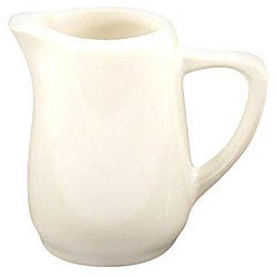 Diversified Ceramics 5.5-oz White Handled Creamer (Case of 24)