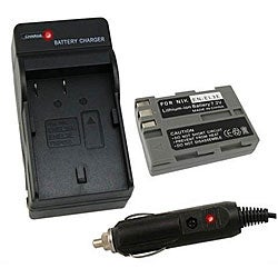 Nikon EN-EL3E Battery and Charger for D200/D700/D90/D300